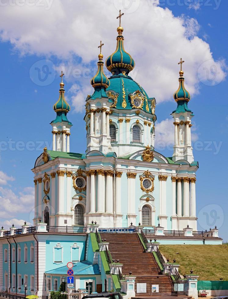 st. la chiesa di andrew a kiev foto