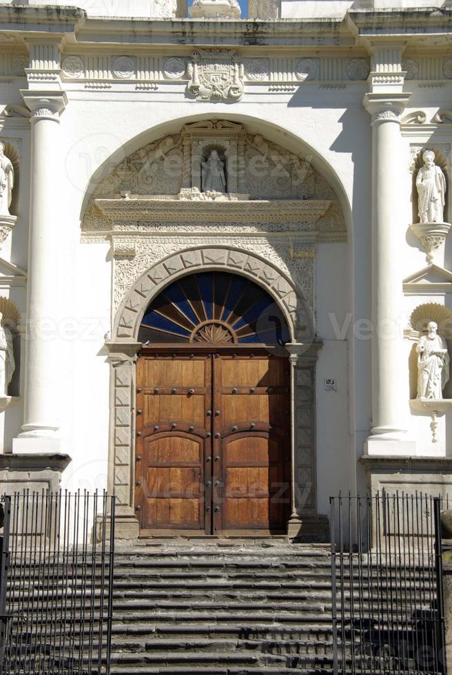 Cattedrale di Antigua, Guatemala foto