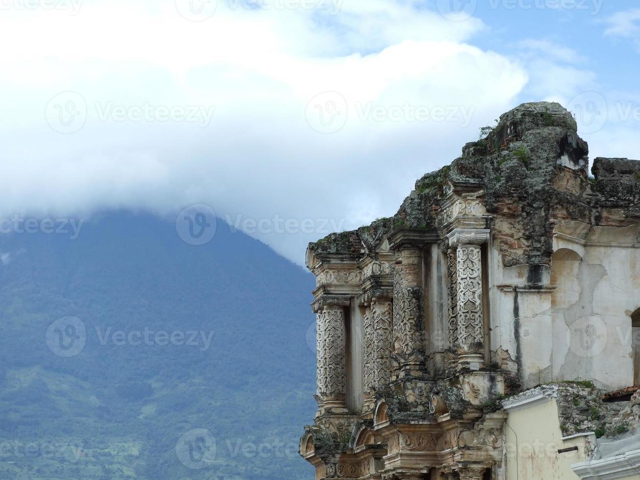rovine di Carmen in Antigua foto