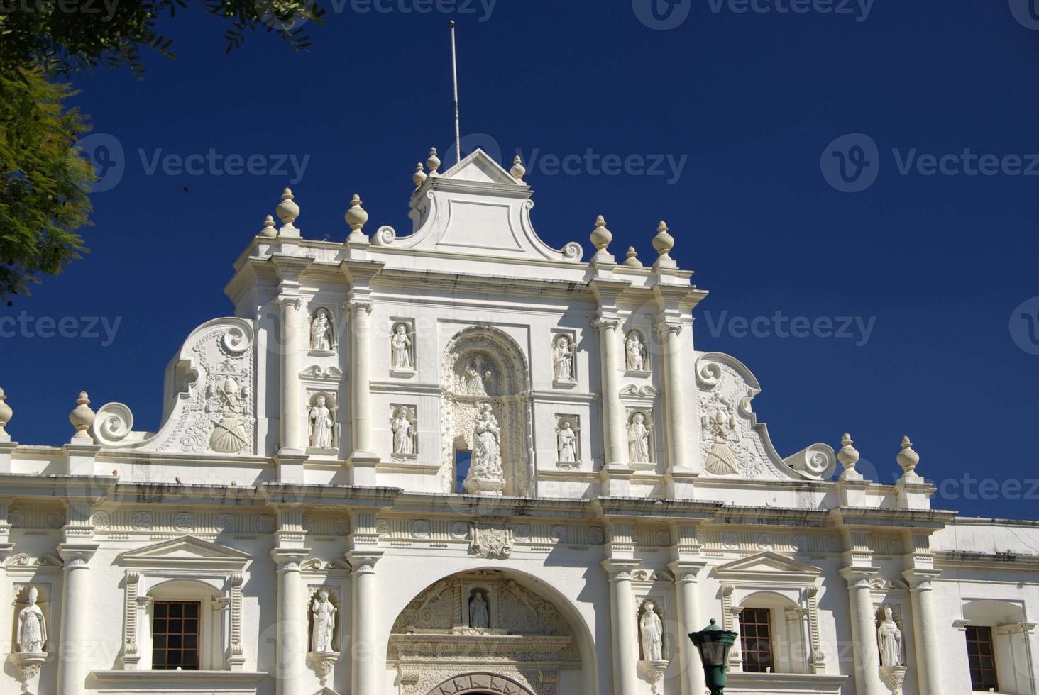 chiesa di antigua, guatemala foto