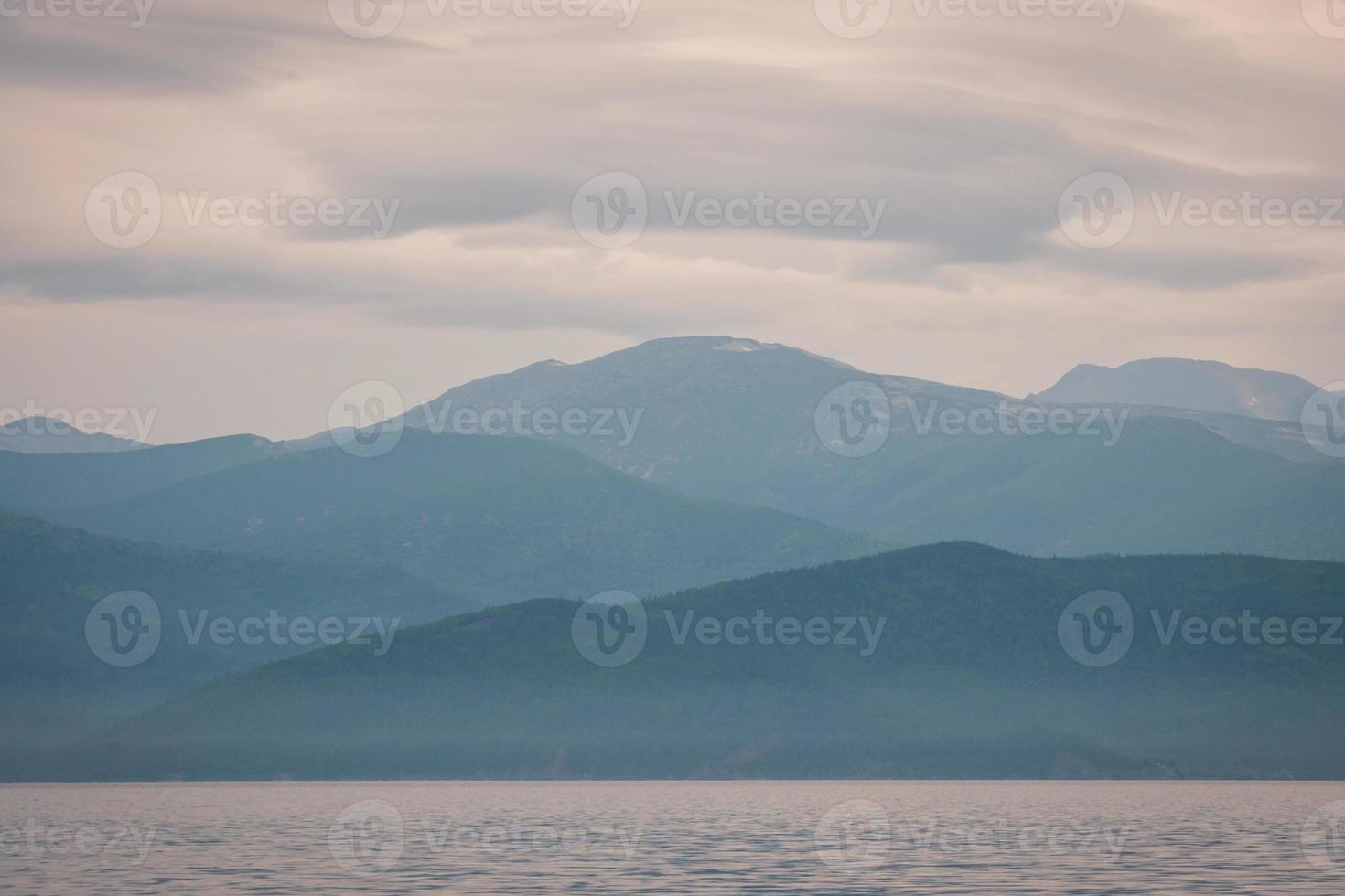 lago baikal, russia foto