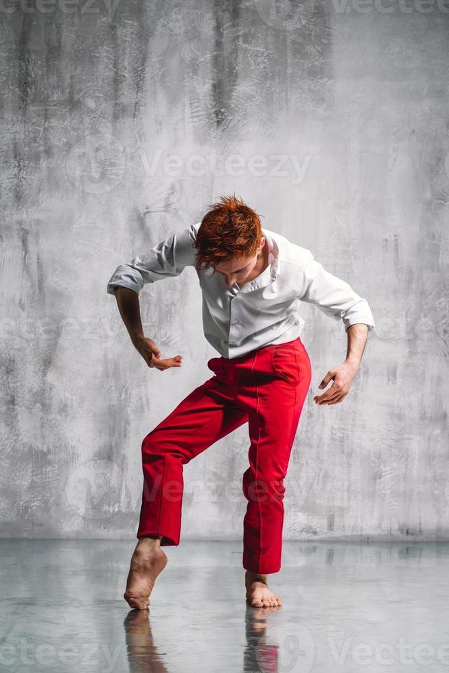ballerina contemporanea foto