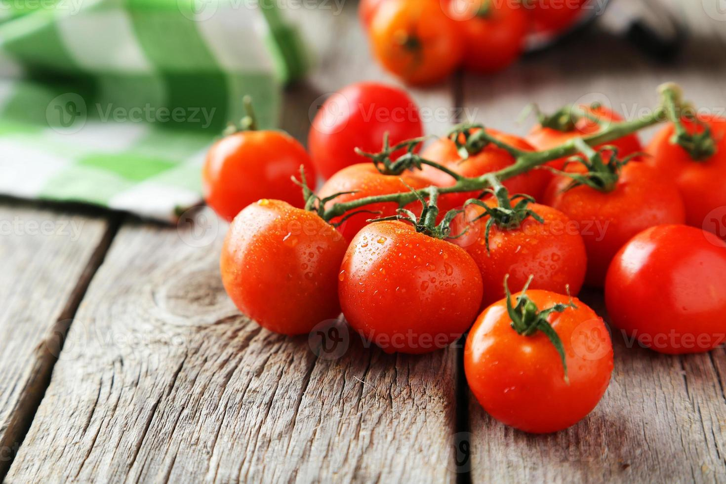 pomodorini freschi foto