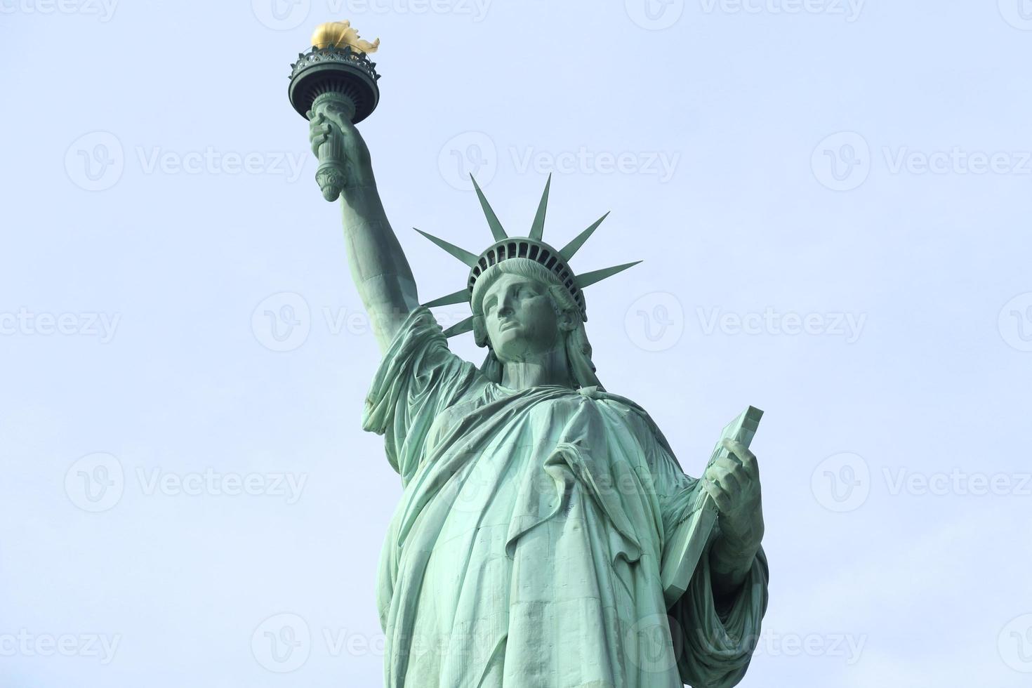 statua della libertà new york foto