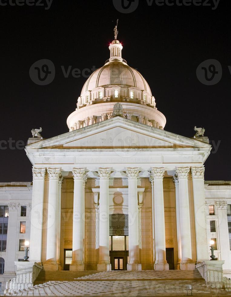 costruzione del capitale dell'Oklahoma foto