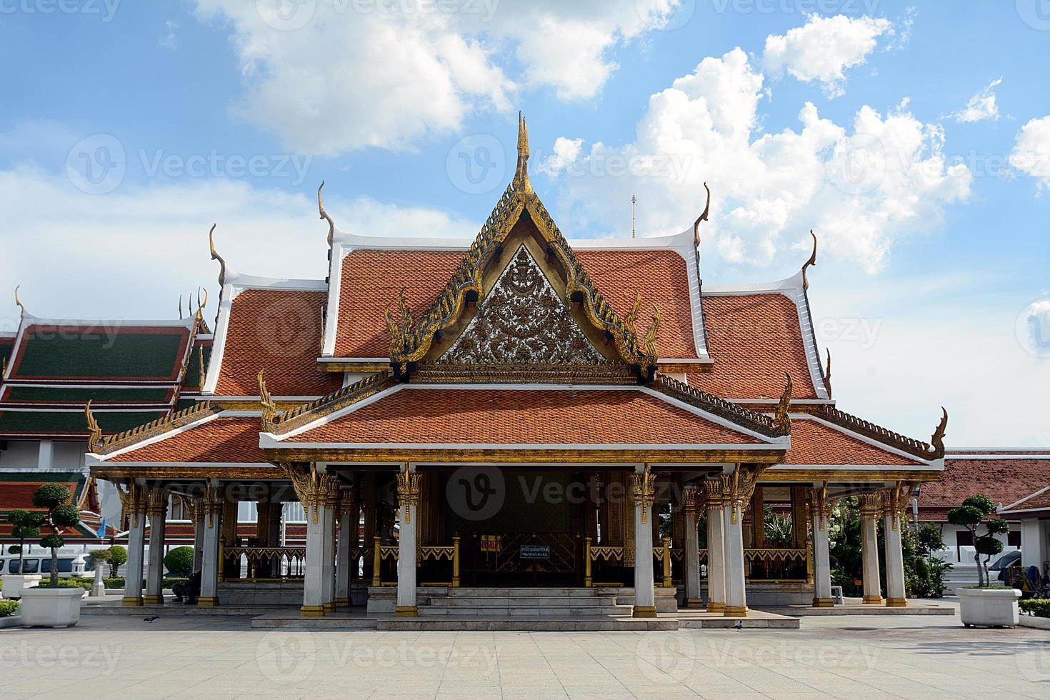 tempio tailandese, bangkok foto