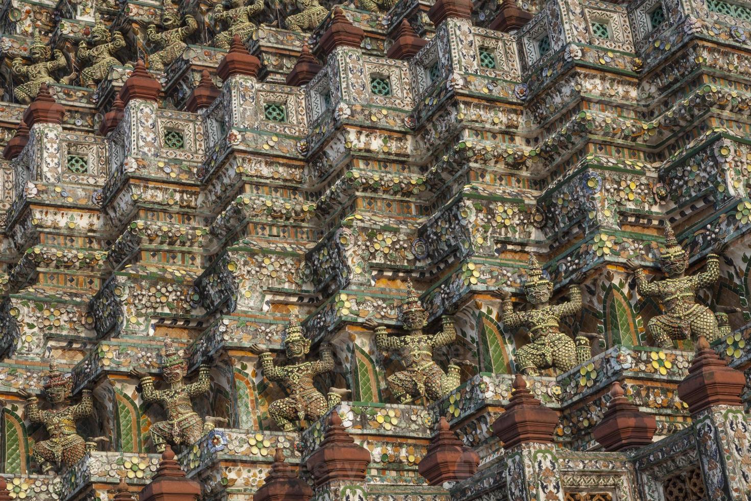 Wat Arun, Bangkok, Tailandia. foto