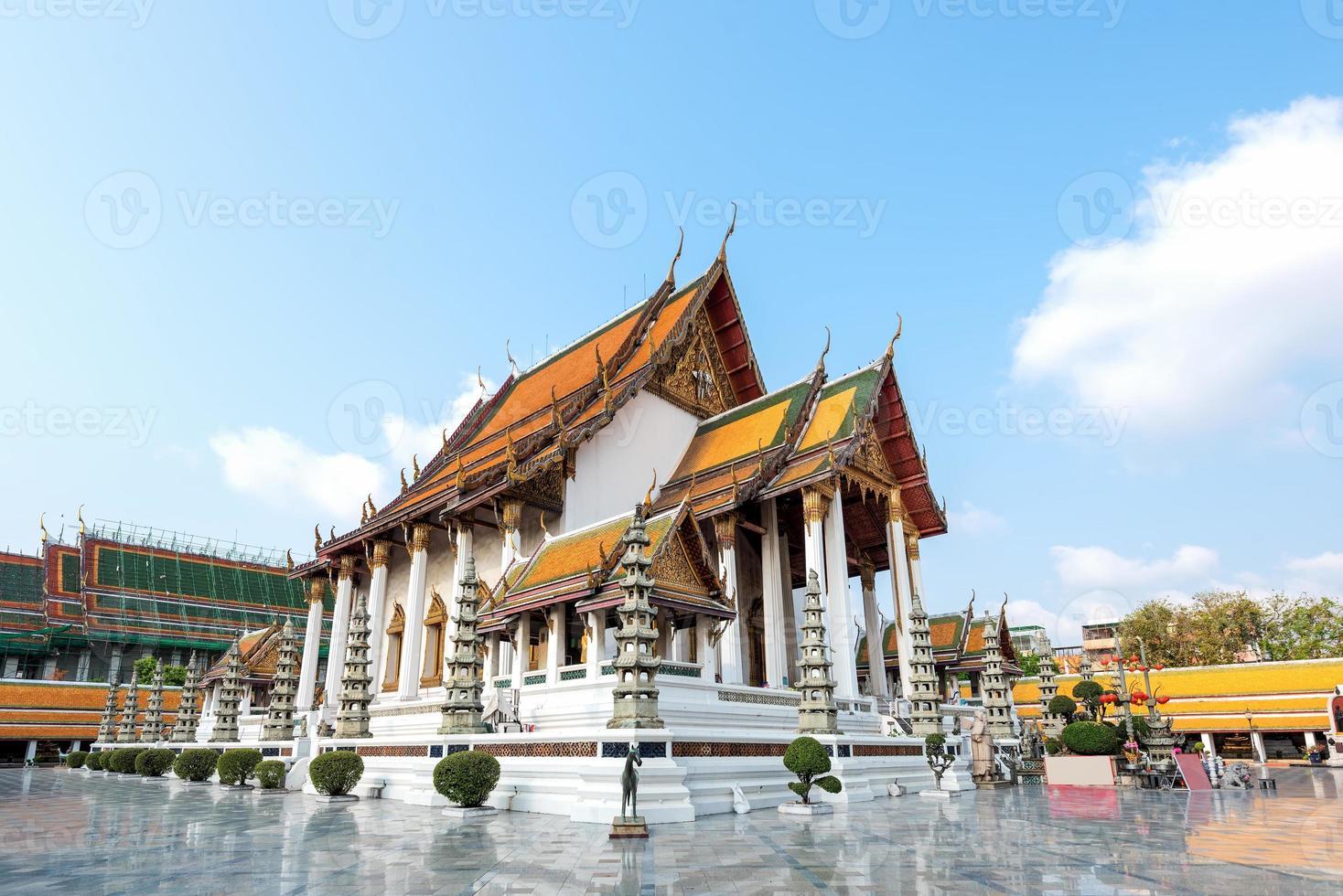 Wat Suthat thepwararam, Bangkok, Tailandia foto