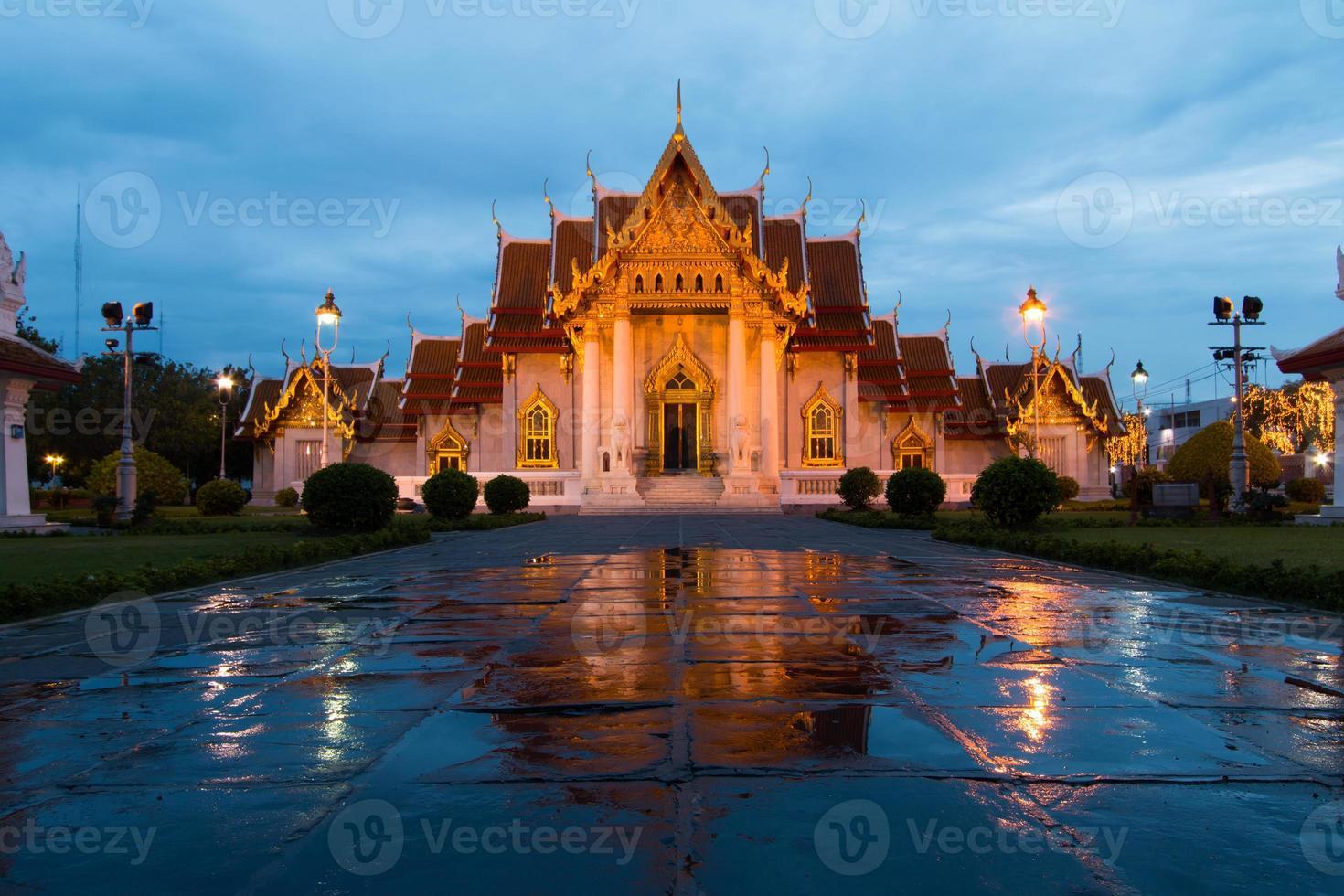 tempio di marmo thailandia foto