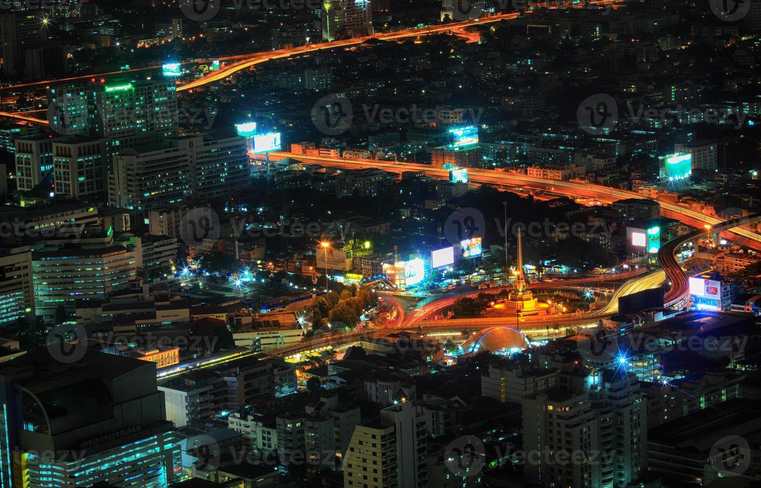 paesaggio urbano di Bangkok foto