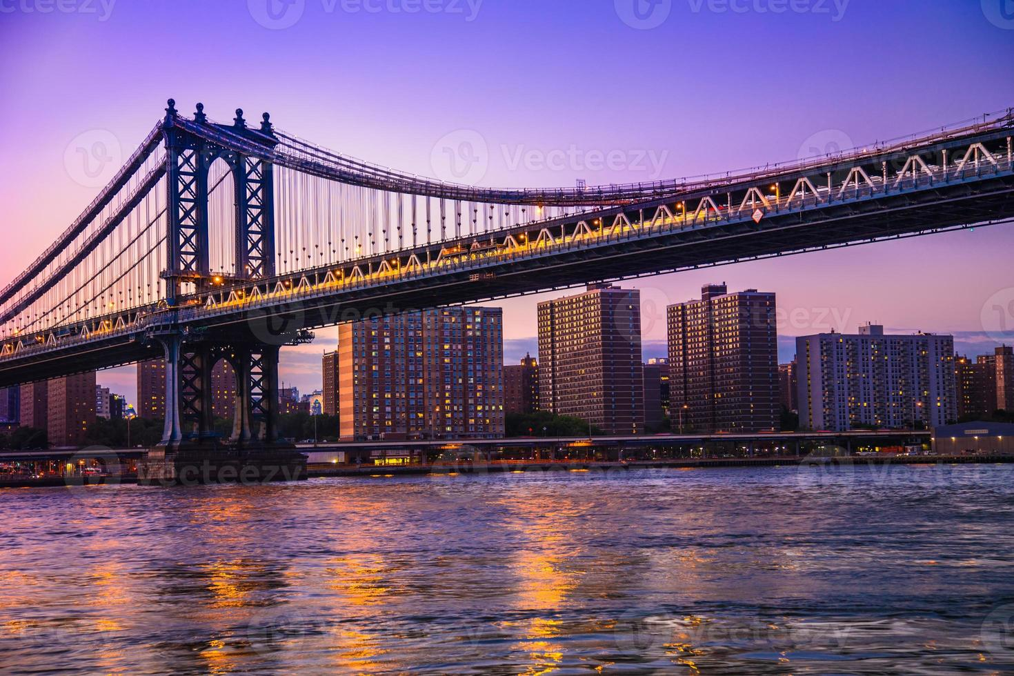 Manhattan Bridge, New York foto