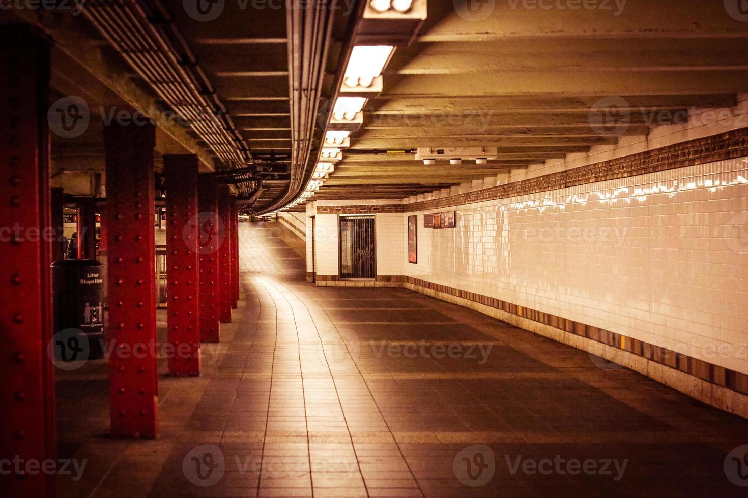 metropolitana a New York City !. così futuristico foto