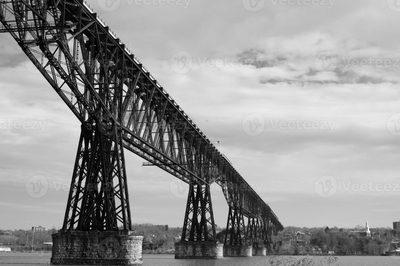 ponte ferroviario di Poughkeepsie foto
