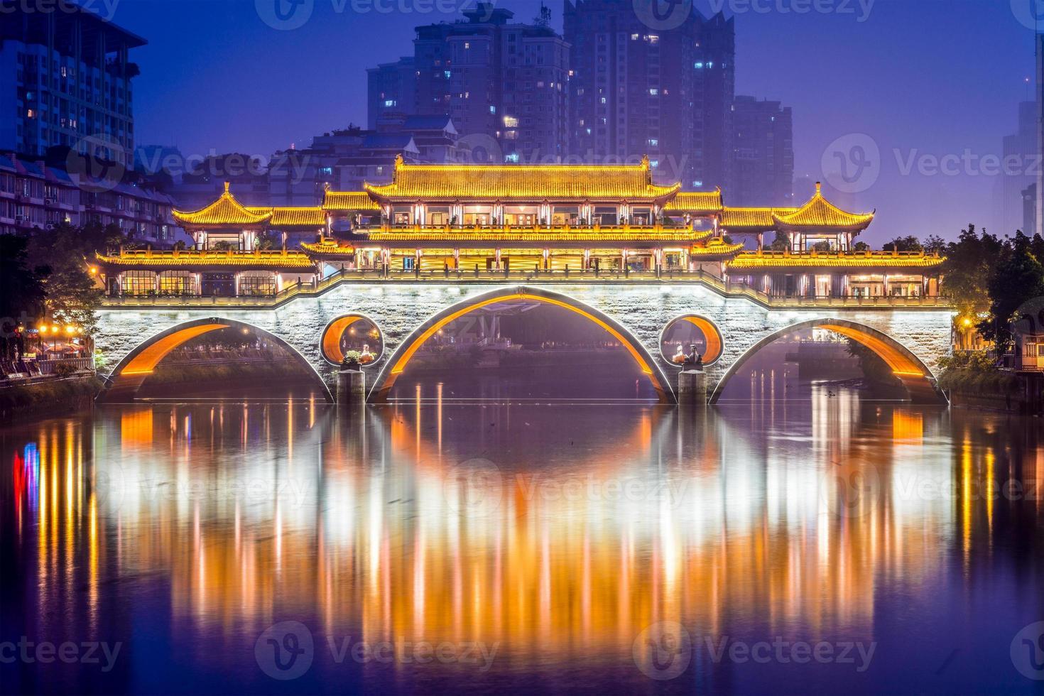 ponte di Chengdu foto