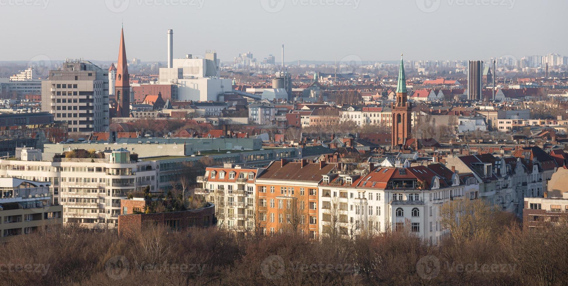 Berlino Germania dall'alto foto