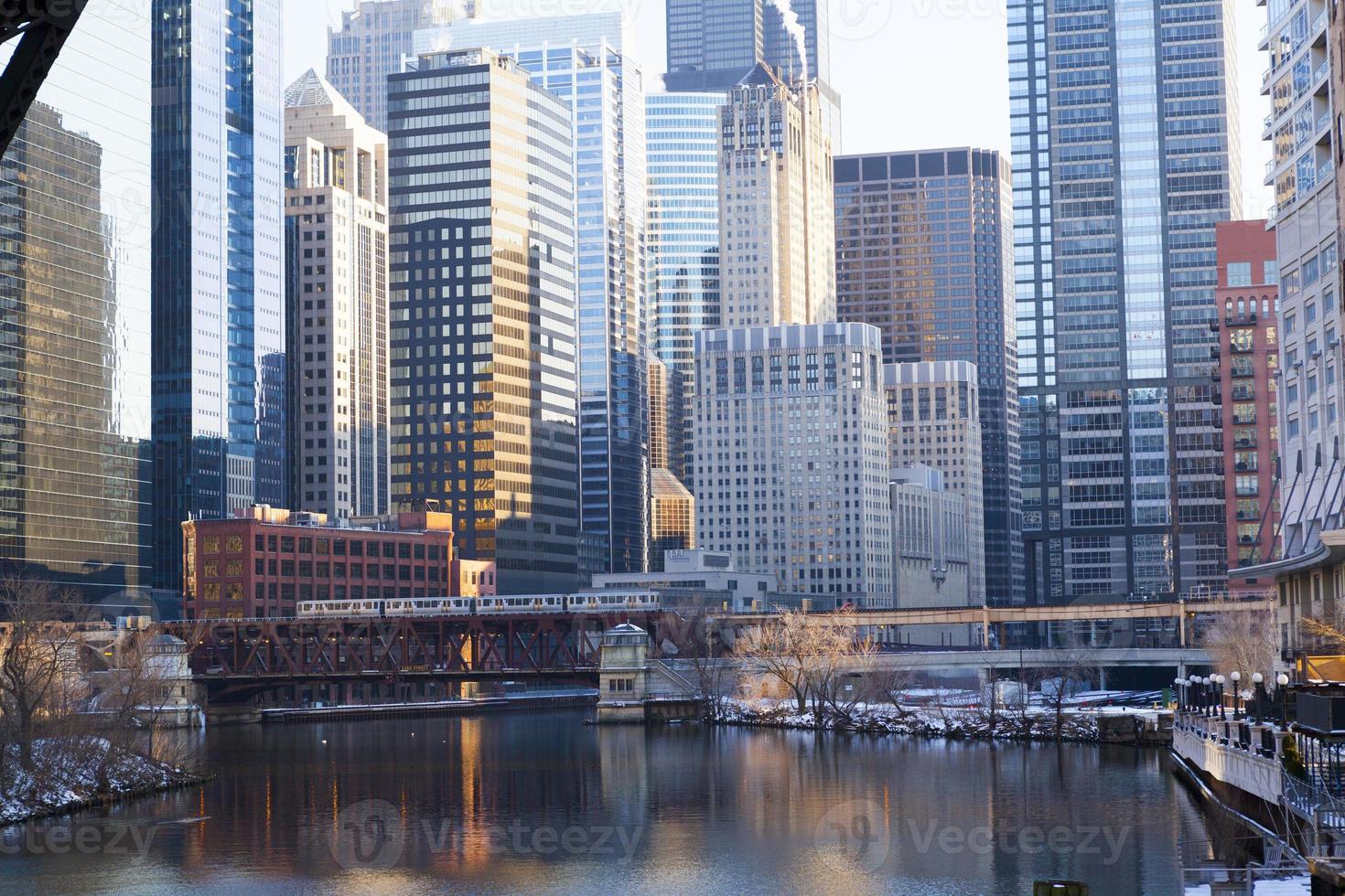 centro di Chicago foto