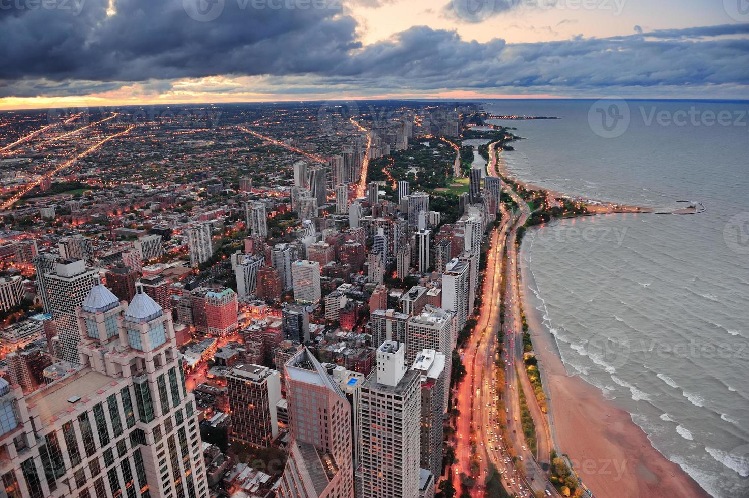 lungolago di Chicago foto