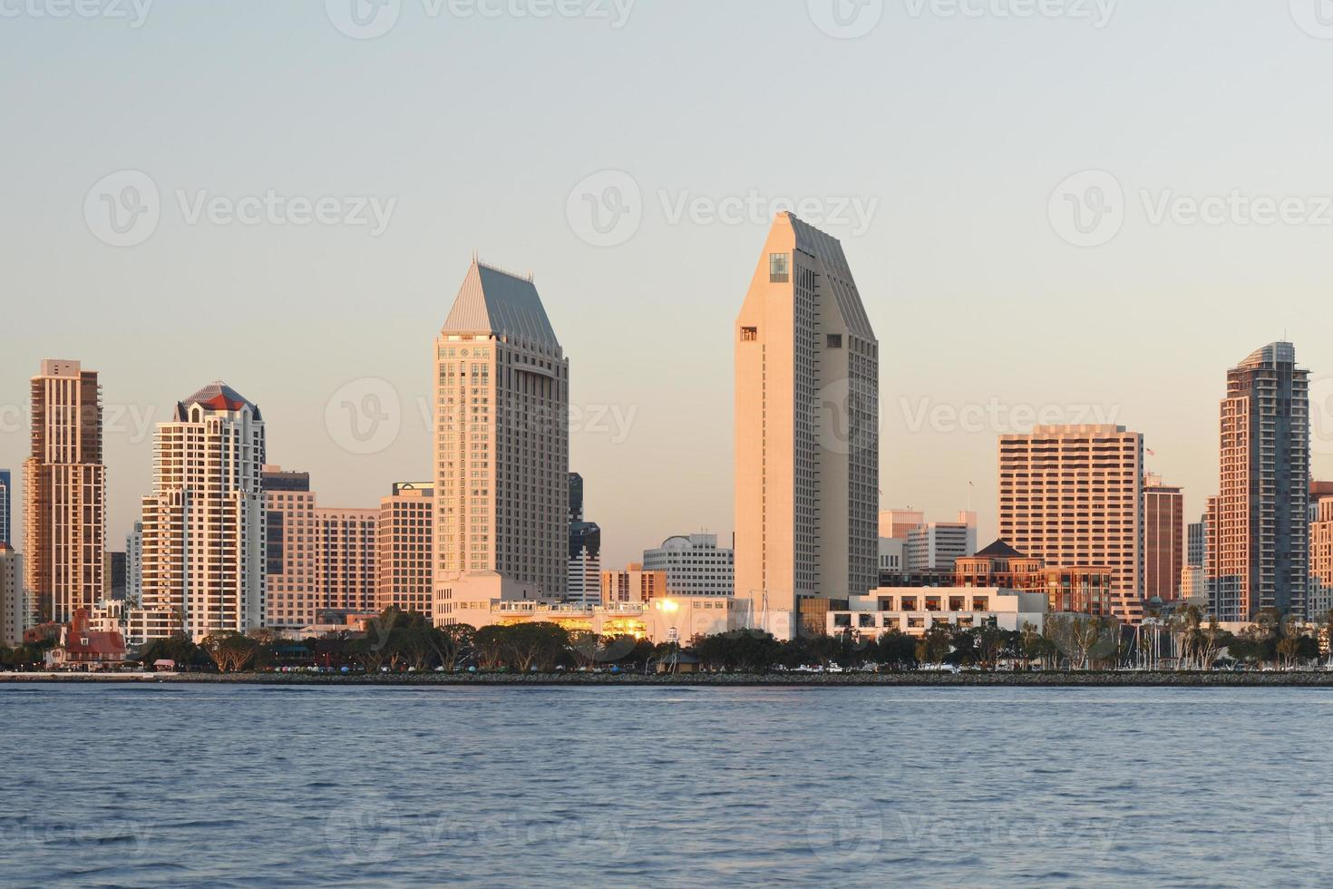 skyline di san diego foto