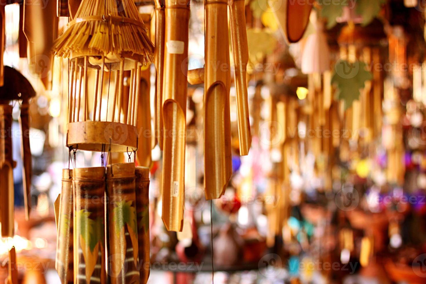 mercato del carillon di vento foto