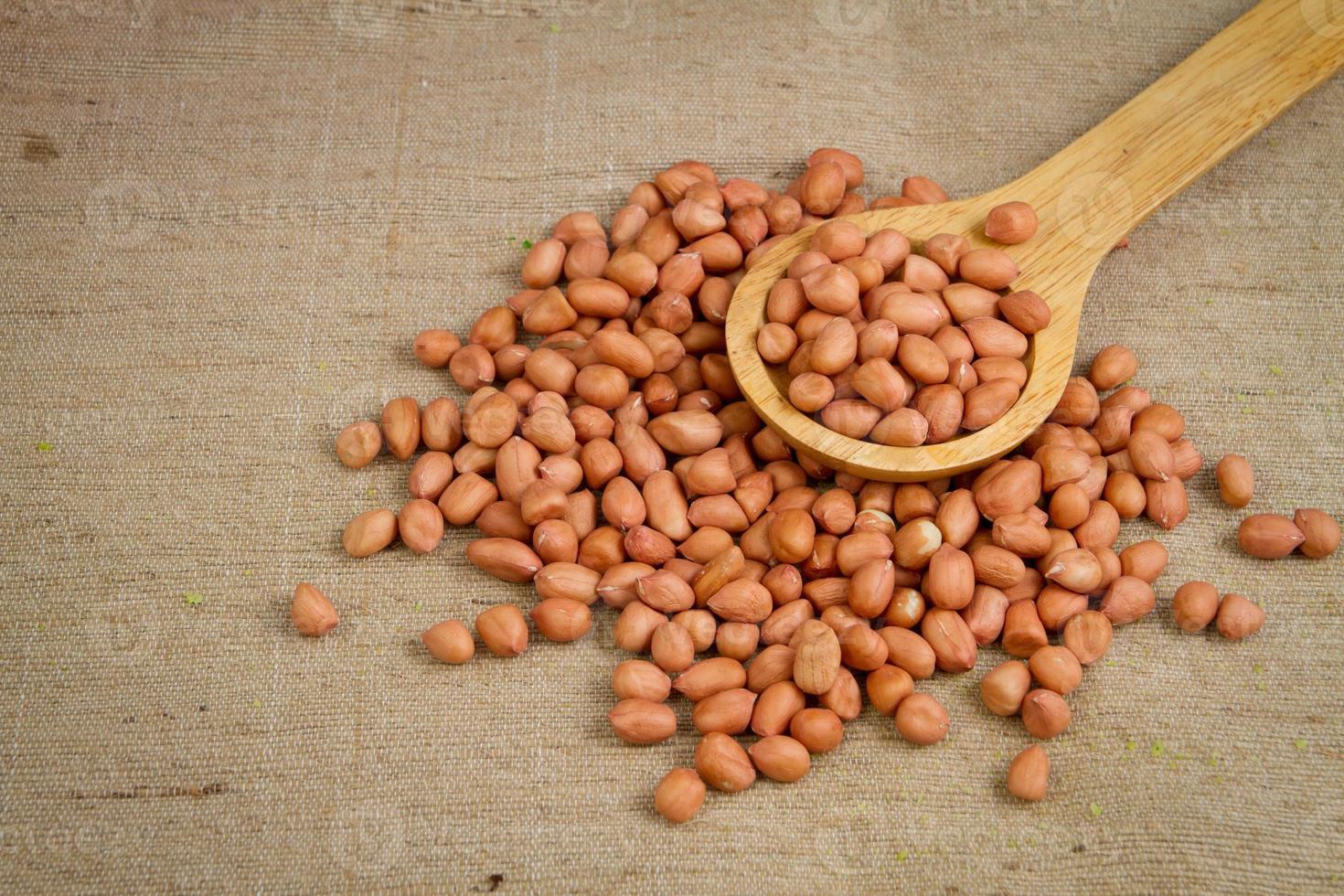 foto di arachidi vietnamite o arachidi.
