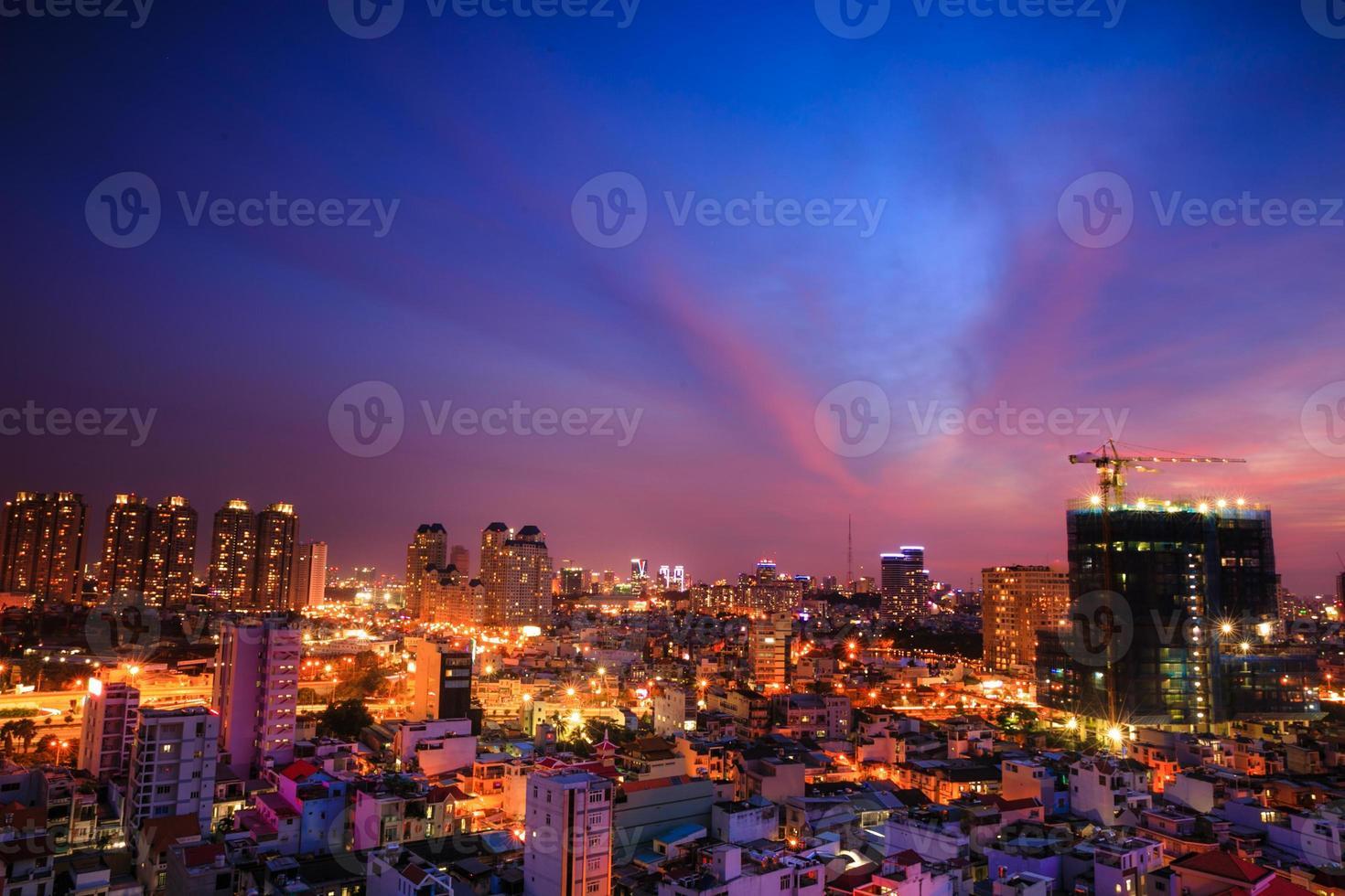 nuova costruzione a ho chi minh city-vietnam foto