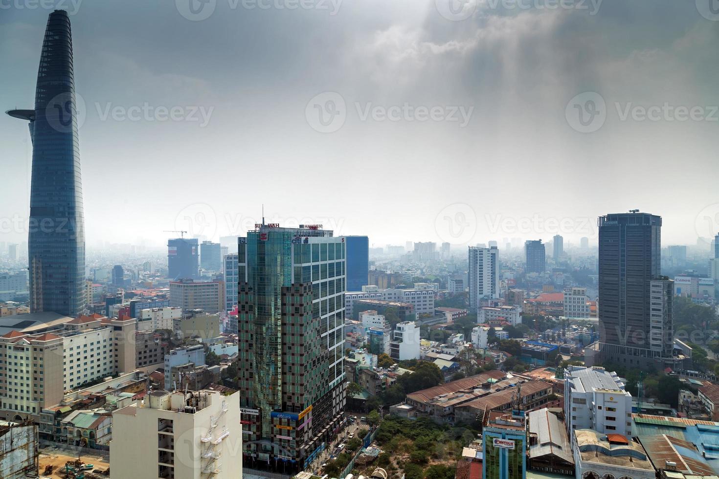 ho chi minh city vietnam foto