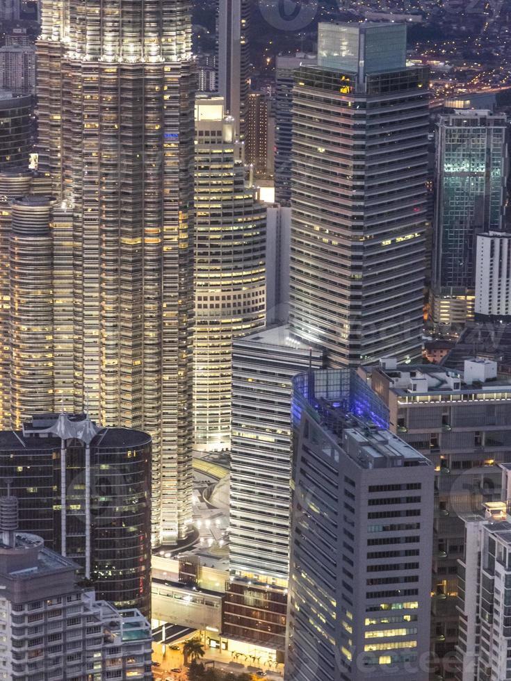Città di Kuala Lumpur, Malesia foto