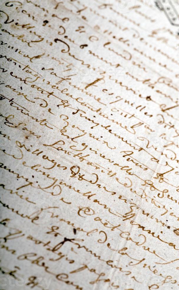 manoscritto antico foto