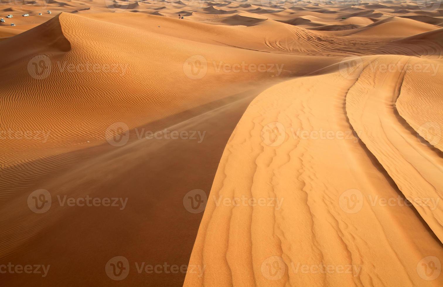 deserto di sabbia rossa foto