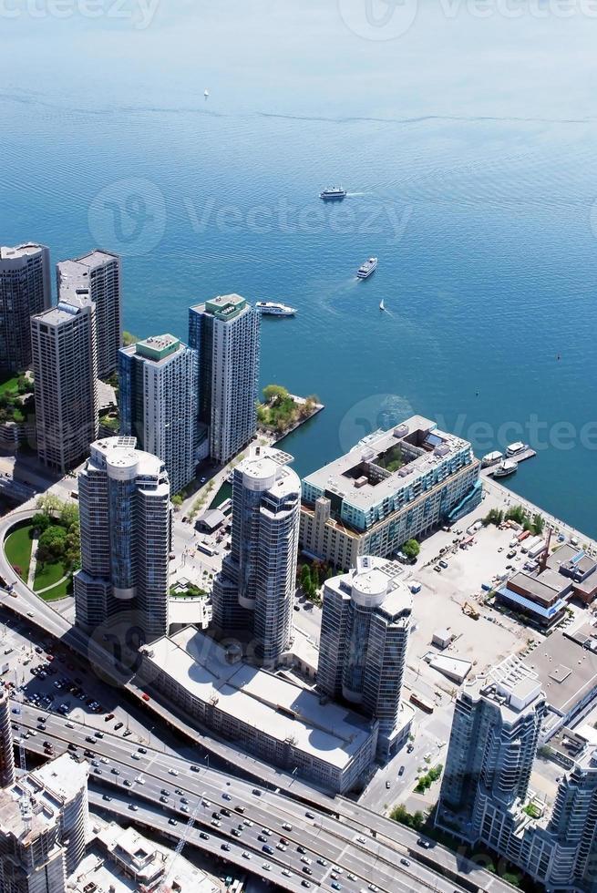 paesaggio urbano di Toronto in Canada foto