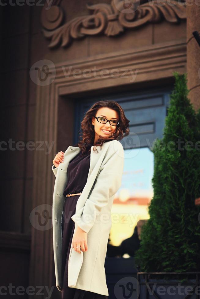 bella donna d'affari foto