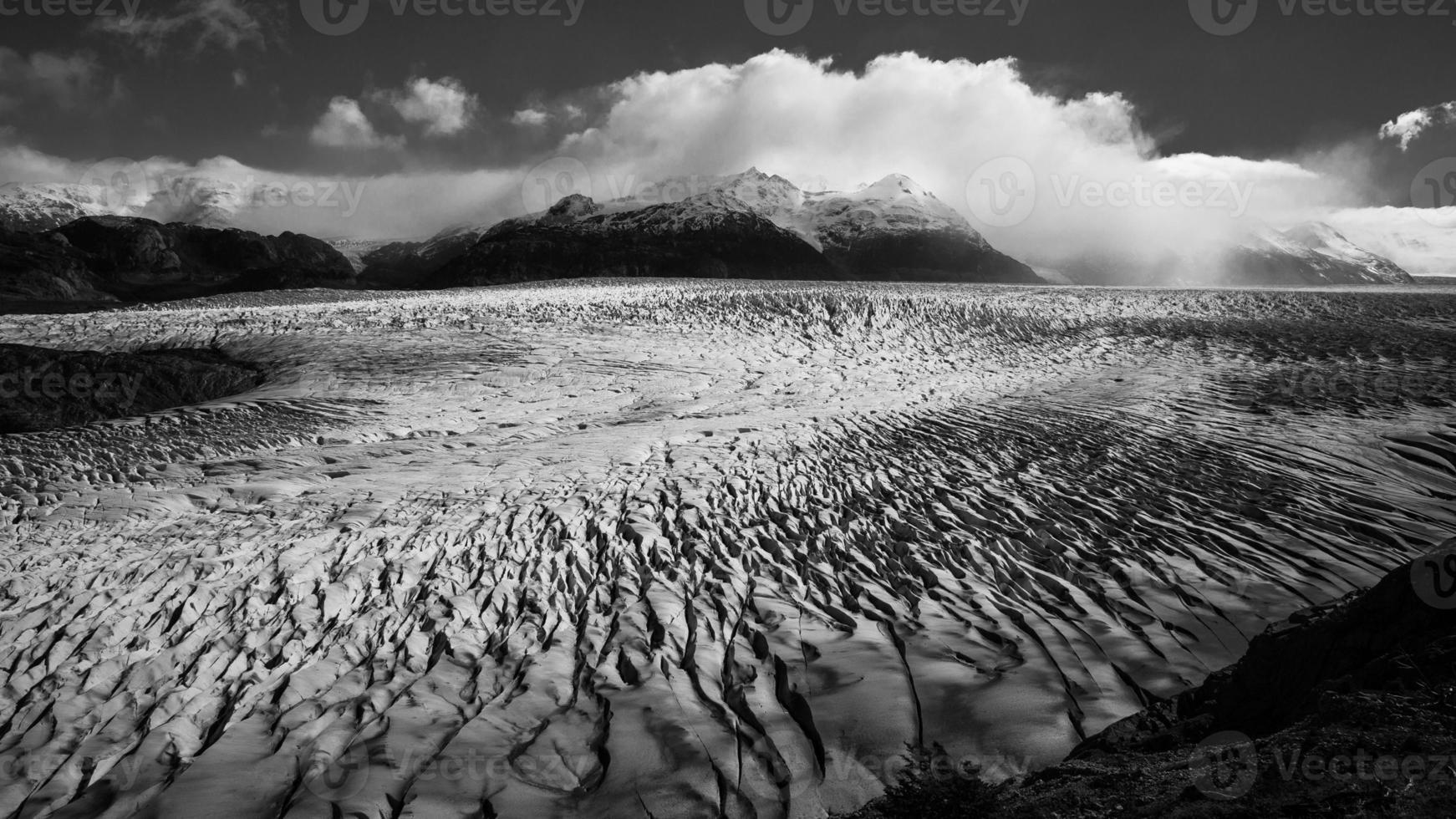 grande ghiacciaio nella Patagonia foto