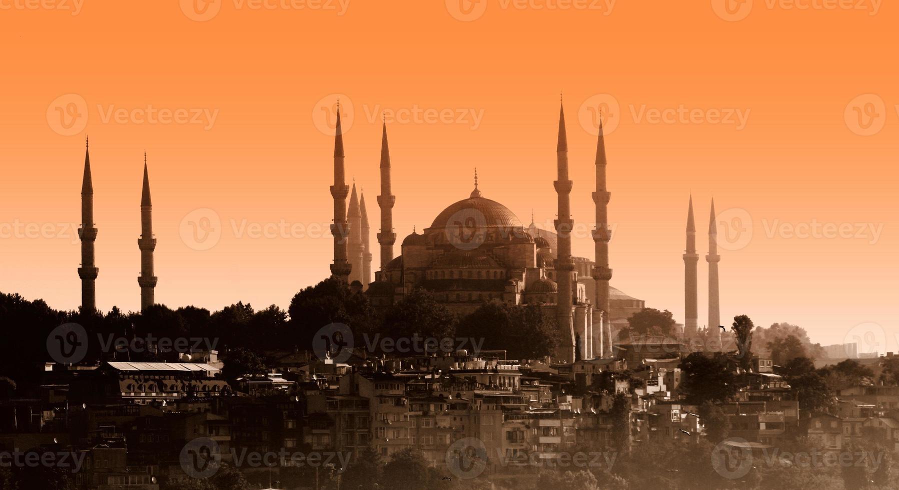 moschea del sultano ahmet, istanbul foto