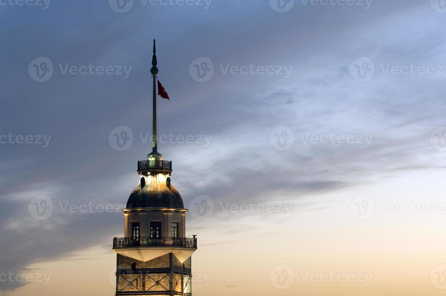 Torre della fanciulla a Istanbul, Turchia foto