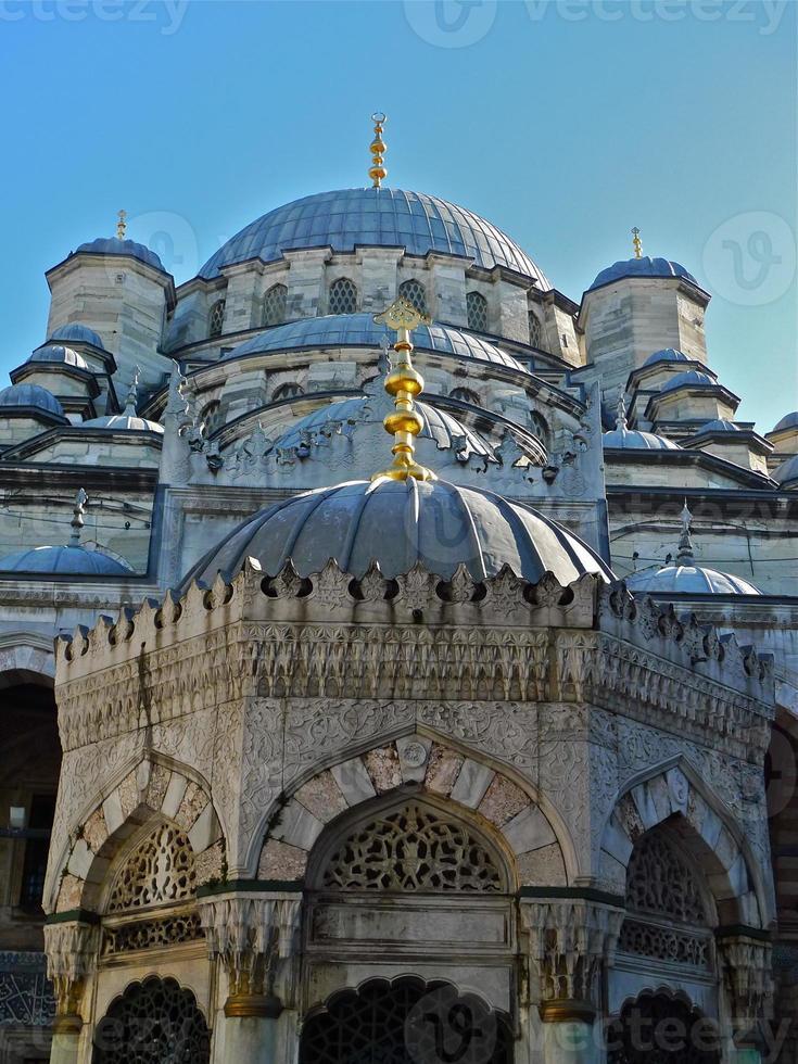 istanbul, mosquée neuve, extérieur, atchitecture foto