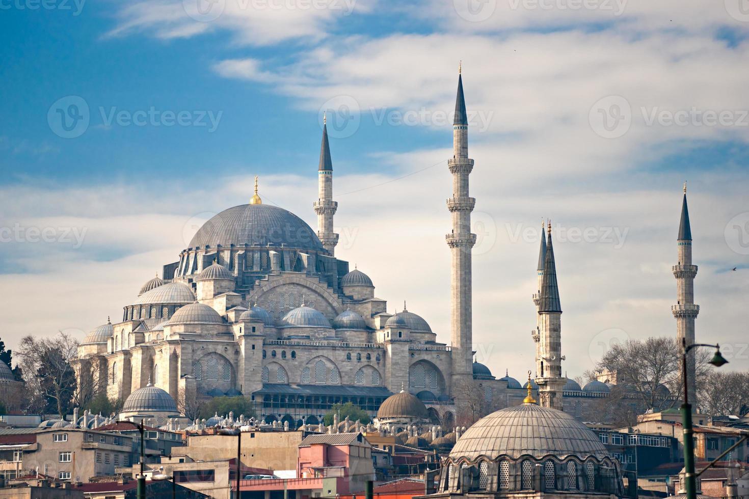 la moschea suleymanie (distretto di Fatih). Istanbul. foto