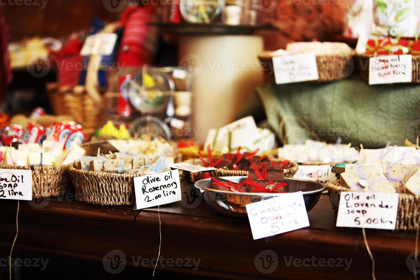 sapone di olio d'oliva naturale turco foto