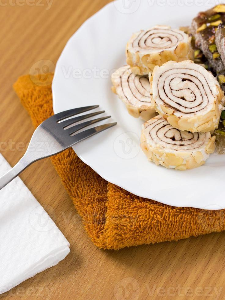 delizia turca dolce foto