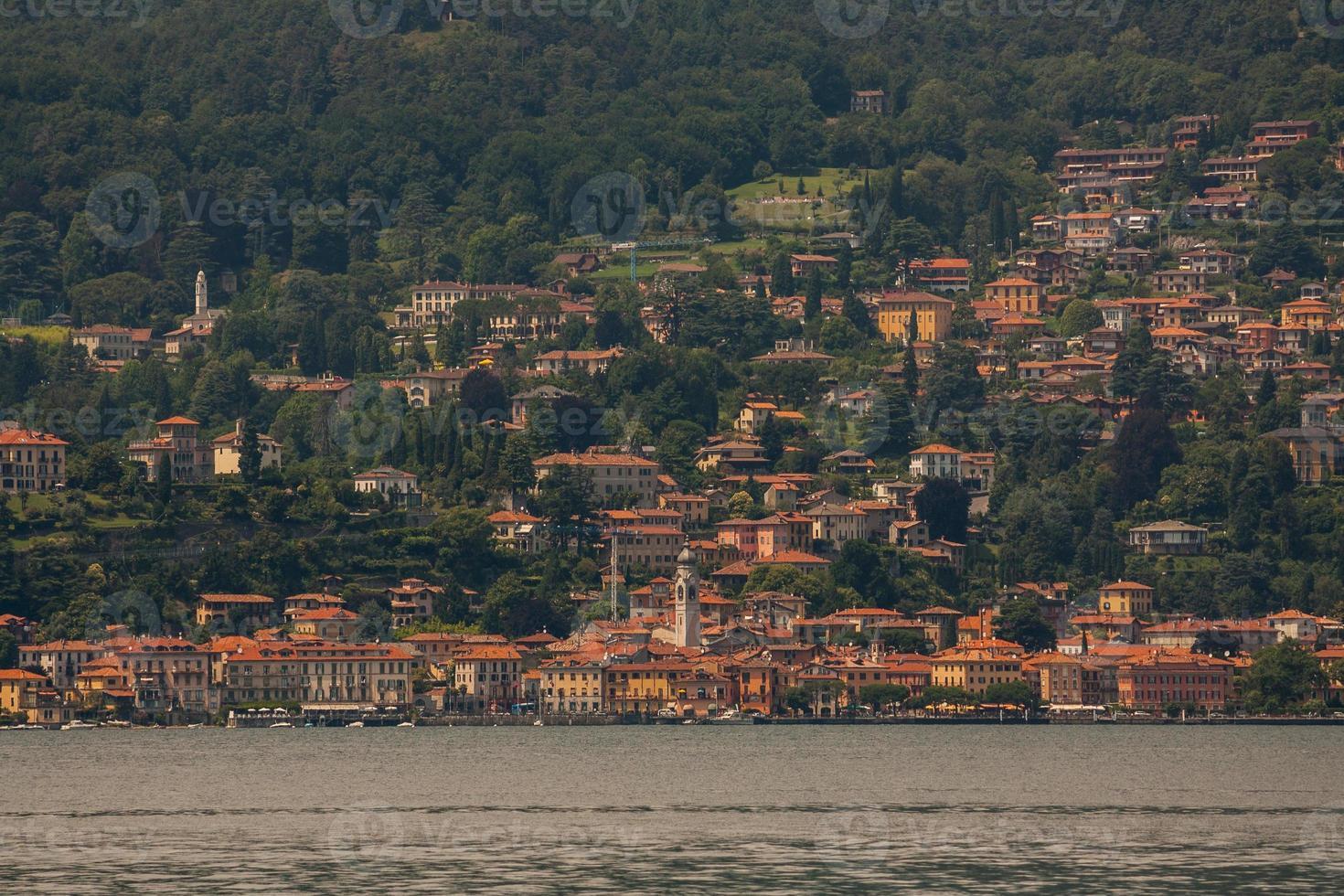lago di como, lombardia, italia foto