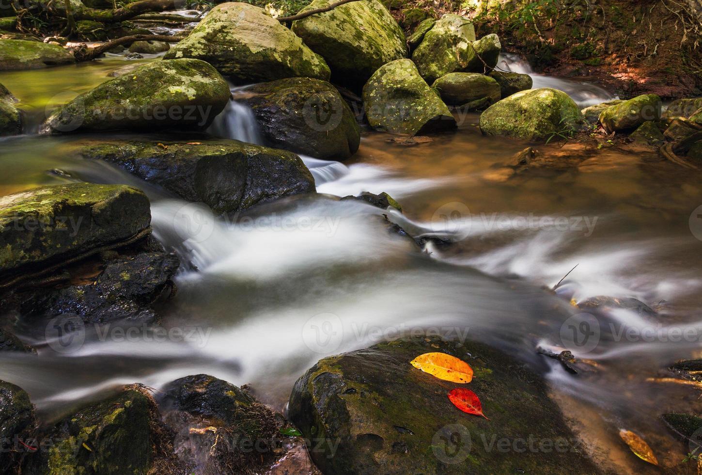 pha kluay mai waterfall foto