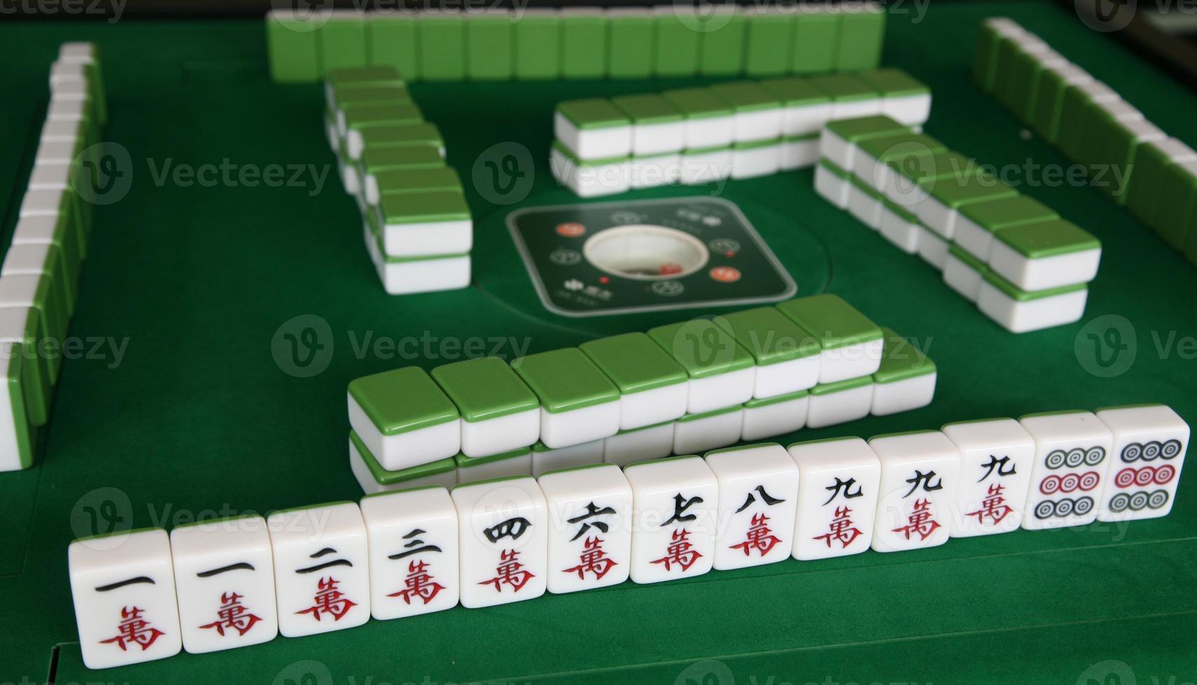 gioco del Mahjong foto