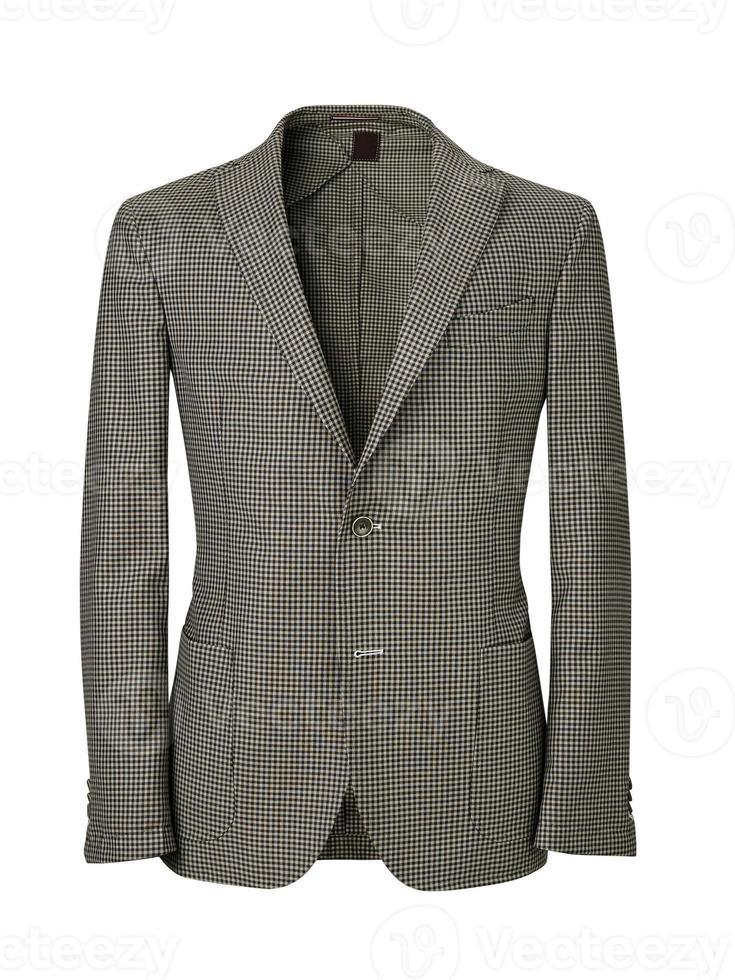 giacca da uomo isolata on white con tracciato di ritaglio foto