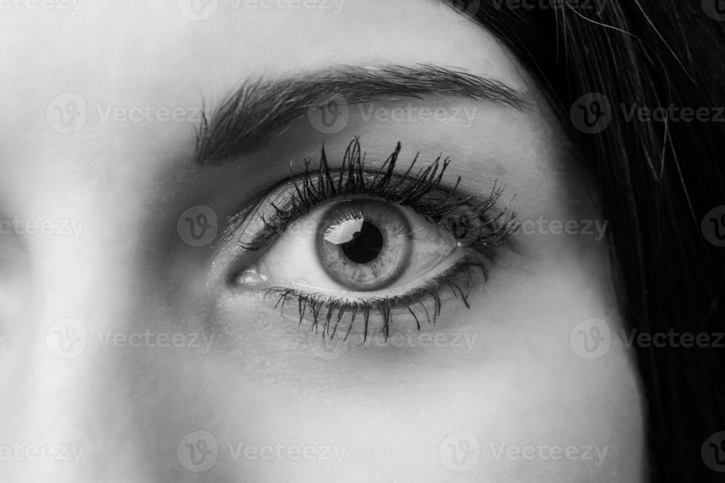 occhio femminile foto