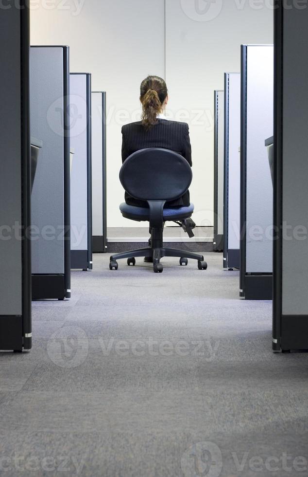 dirigente femminile di ofice foto