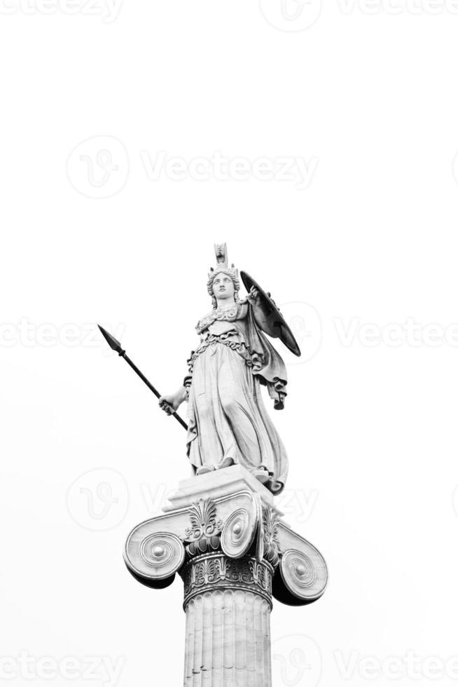 statua di Atena foto