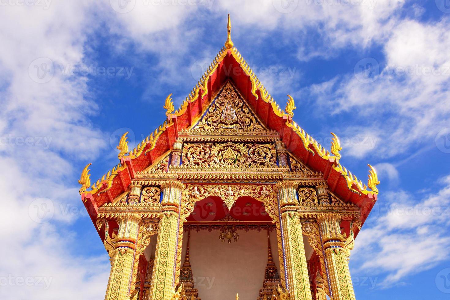 tempio wat tailandese foto