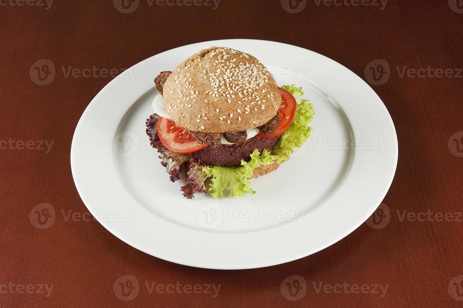 hamburger sano foto