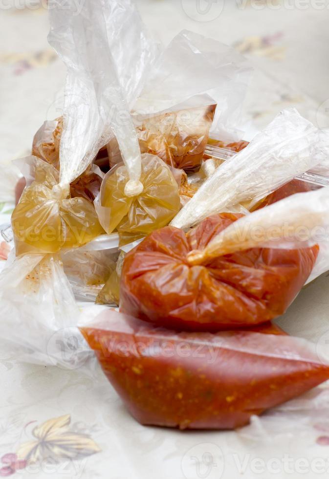 salsa rossa foto