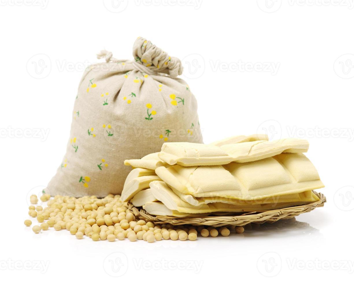 tofu e altri prodotti a base di soia foto