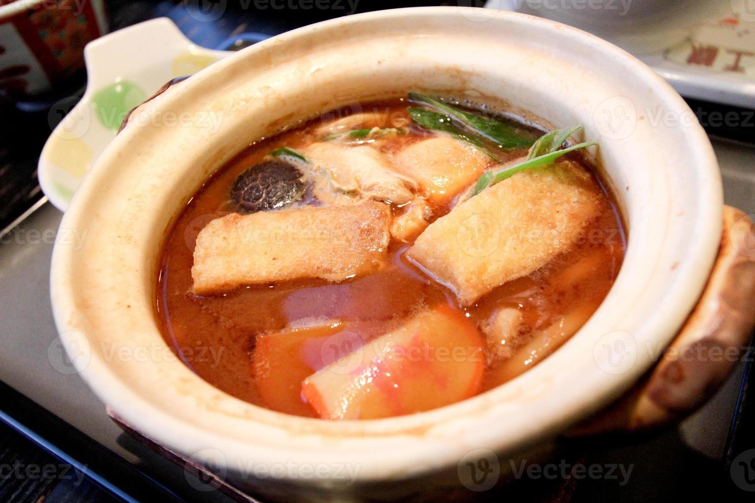Japan Miso Noodles foto